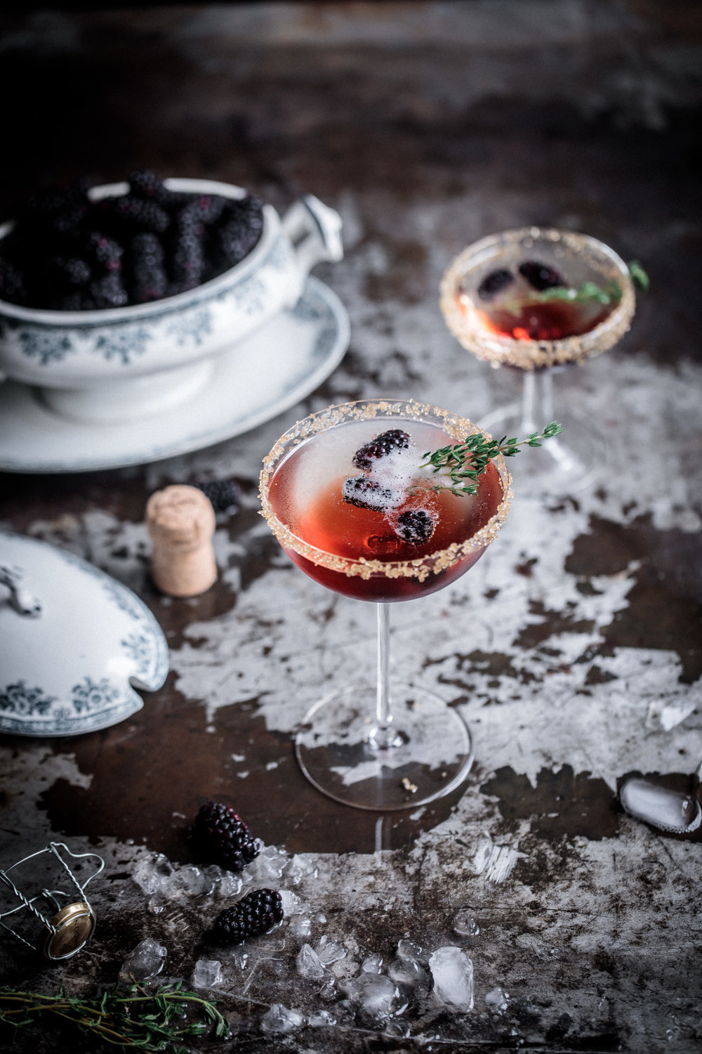 Blackberry and Thyme Fizz | Chandon | Anisa Sabet | The Macadames-221