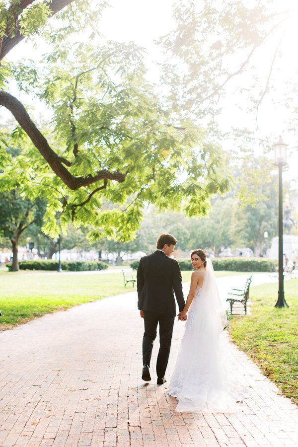 Bride-Groom-Holding-Hand-DC-Sarah-Bradshaw-Photography