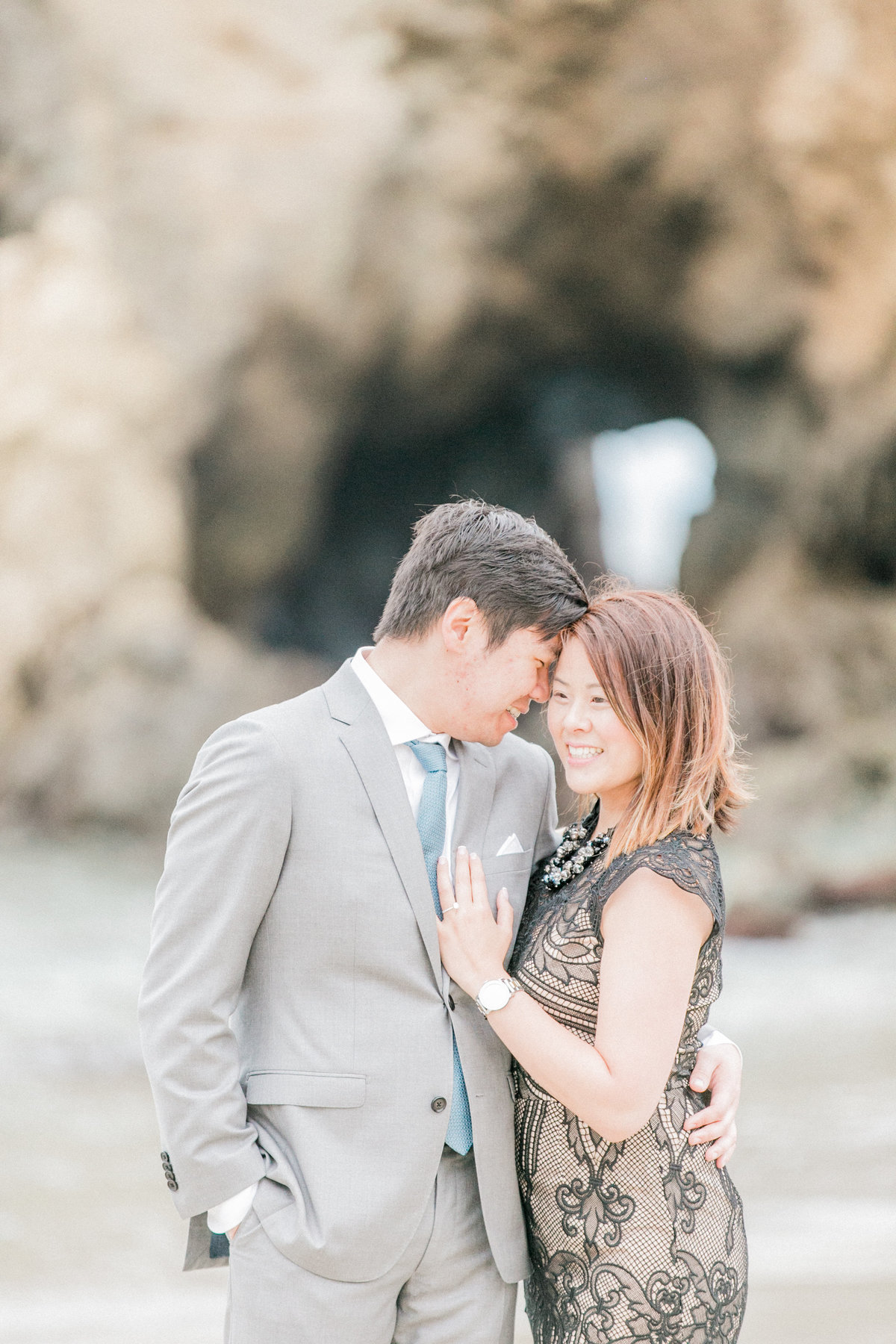 California Central Coast Beach Engagement