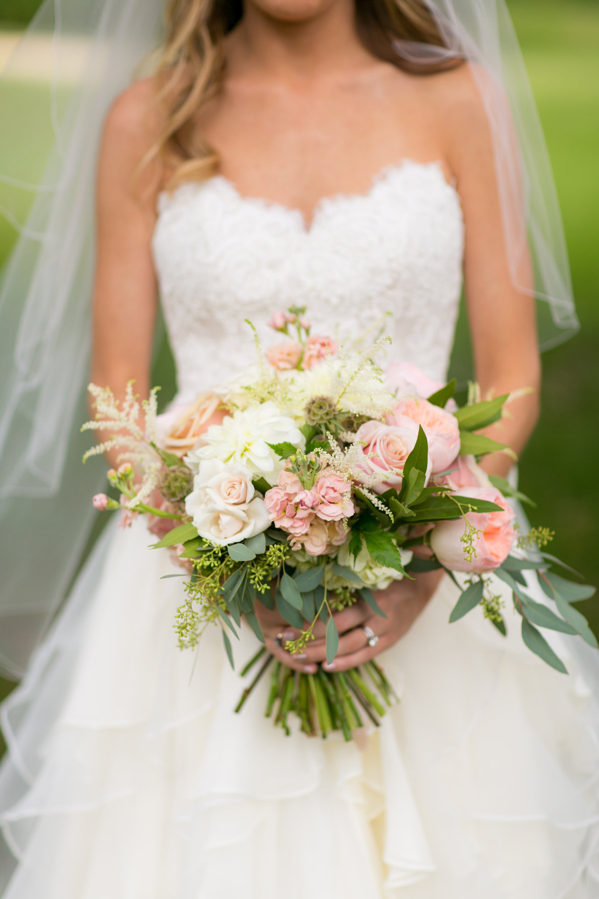 Baltimore wedding bouquet from Crimson & Clover