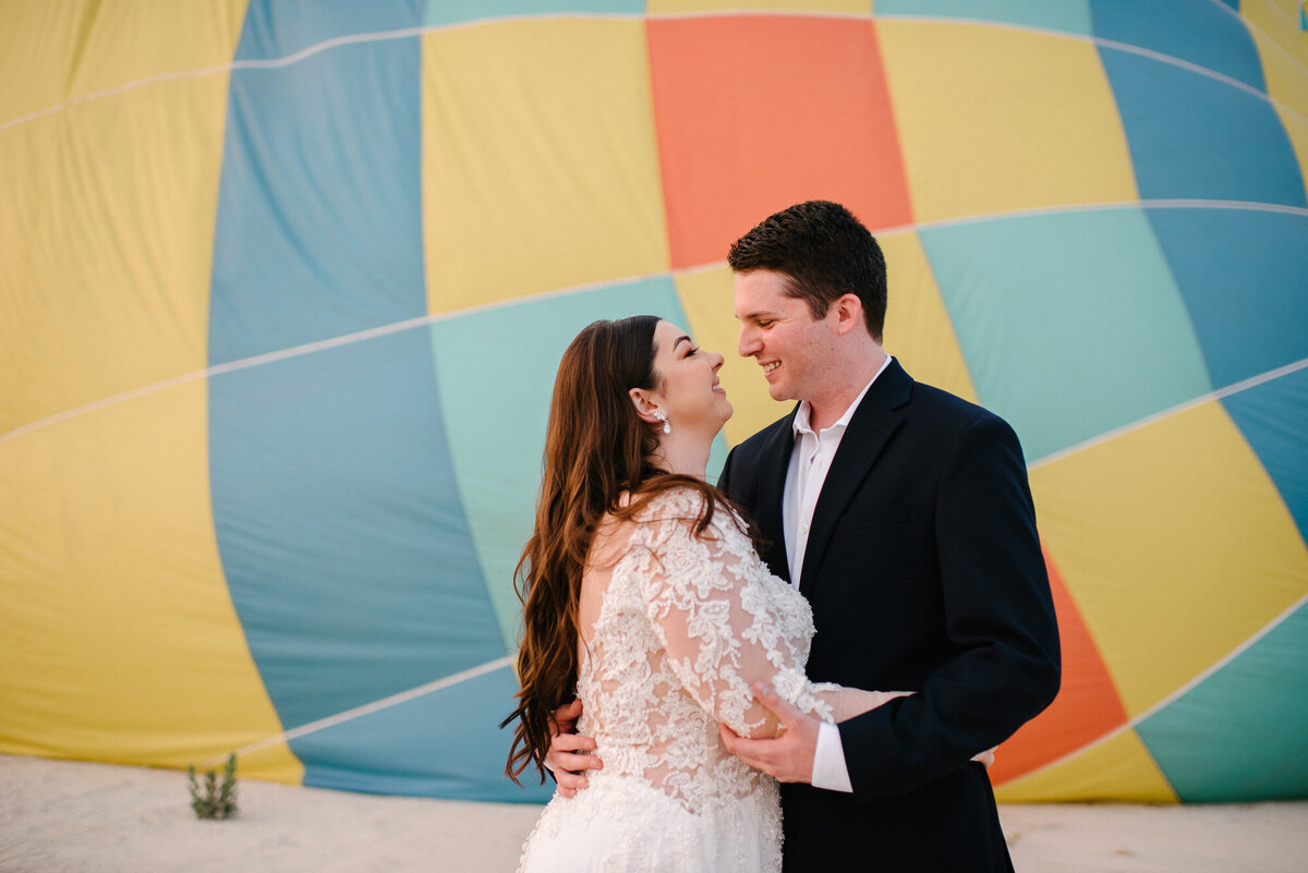 Hot Air Balloon Elopement Marie Monforte Photography-202