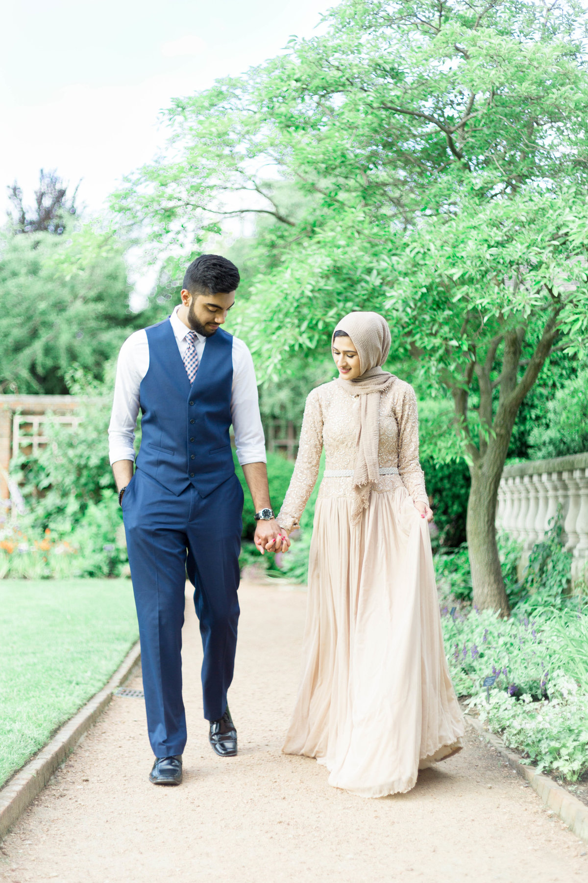 Humna & Fahad Chicago Botanic Engagement -20