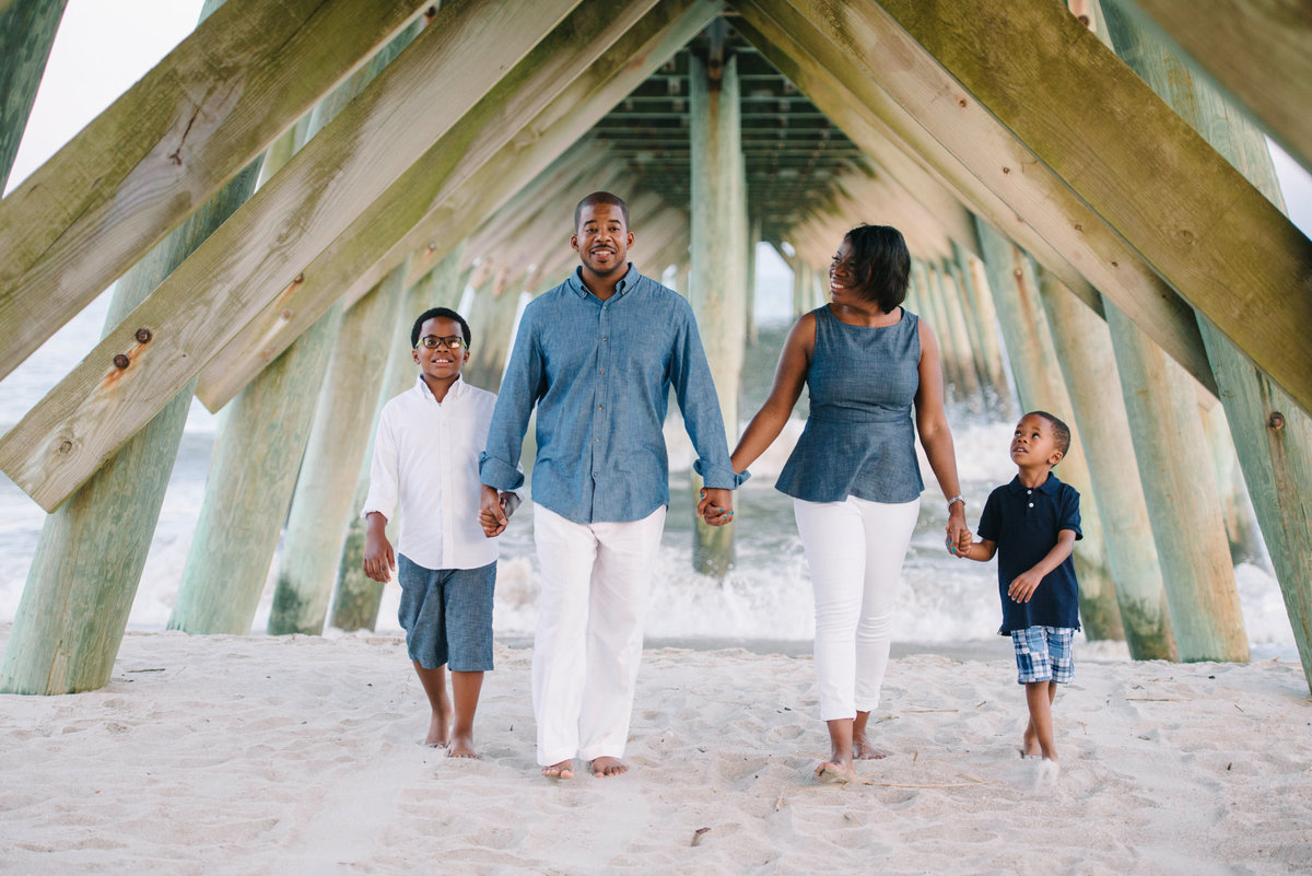 Family Beach Portraits in Myrtle Beach at Myrtle Beach State Park by Pasha Belman Photographer-11