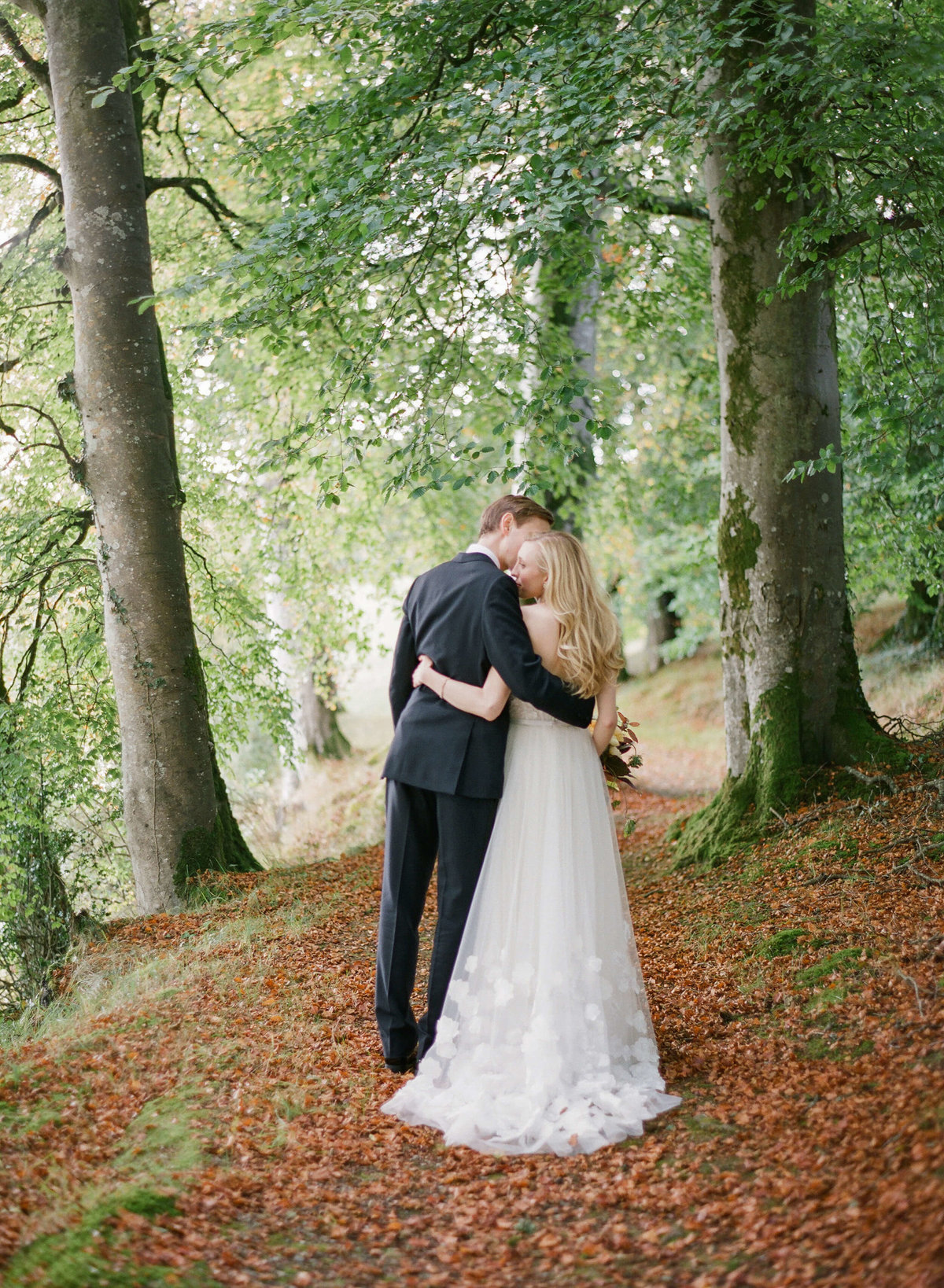 47-KTMerry-weddings-bride-groom-Ireland-woods