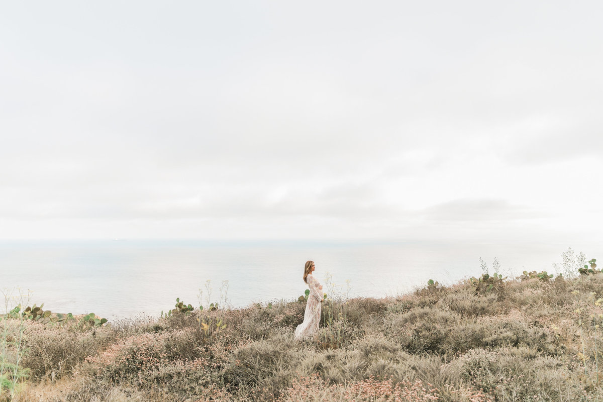 Southern California Coastline Maternity Session_Valorie Darling Photography-6384
