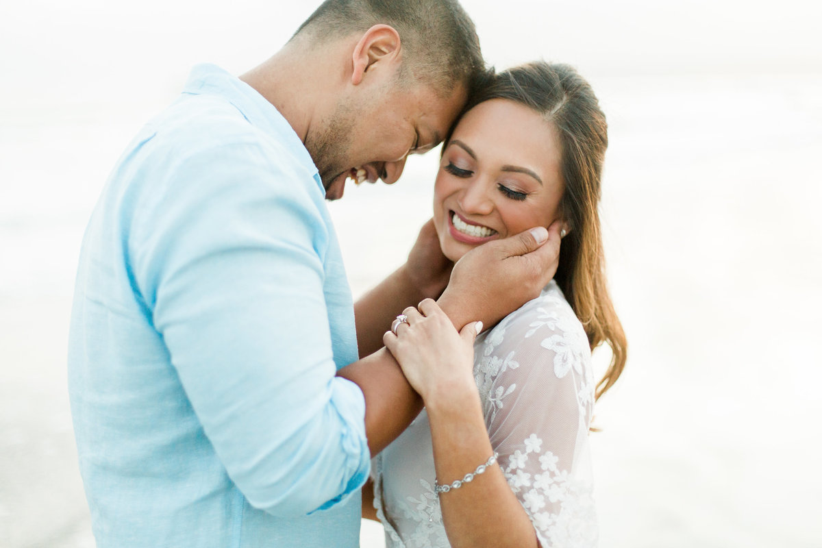 San Diego Coronado Beach Engagement Photos