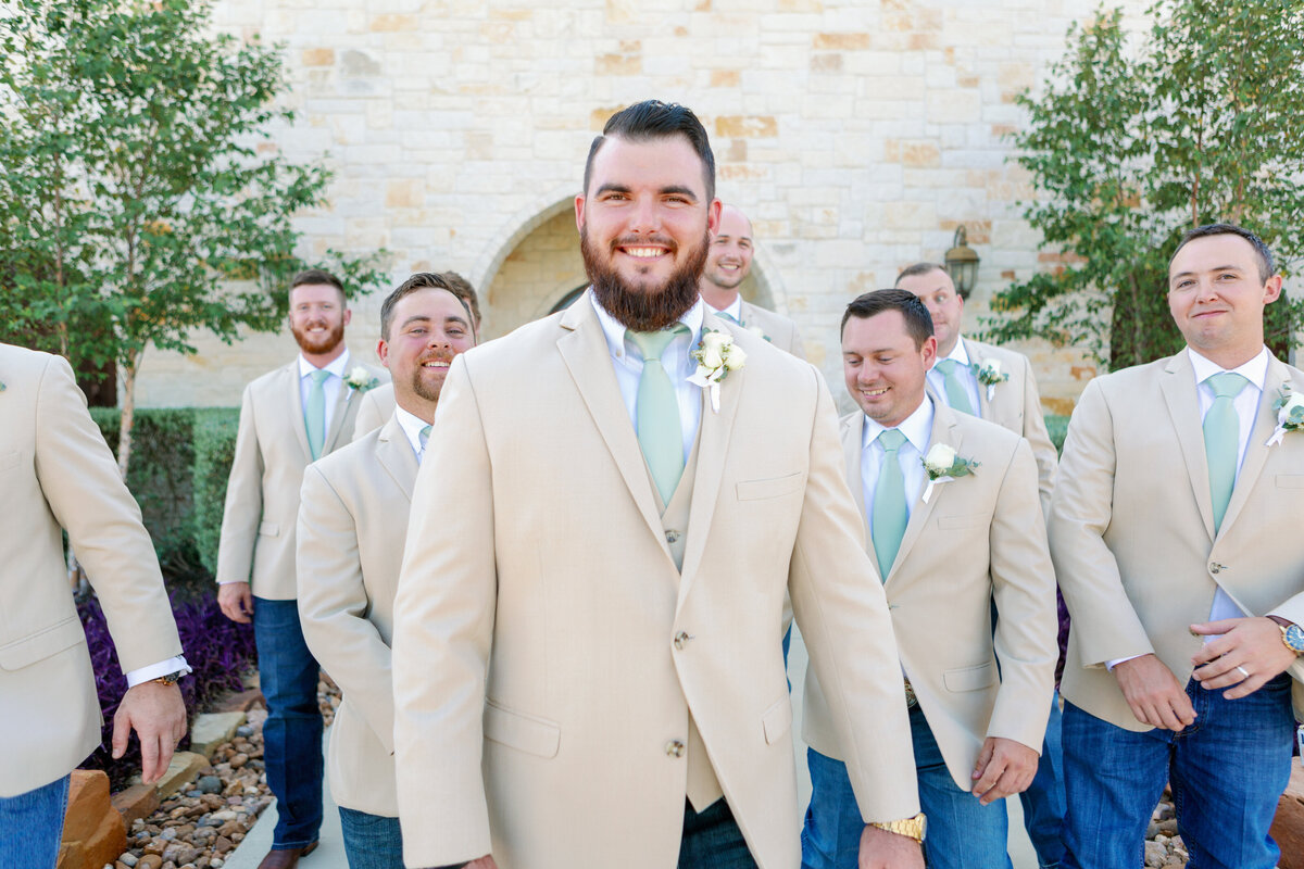 Groomsmen Candid Natural Photography