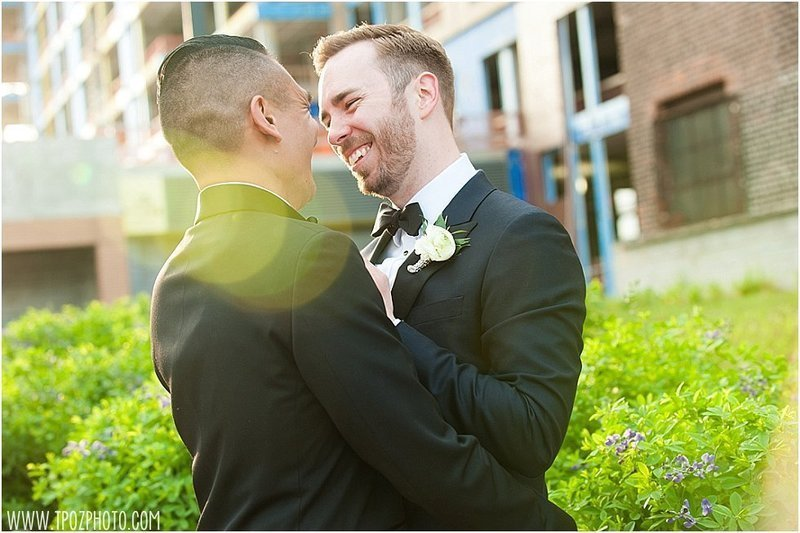 Baltimore Gay wedding couple
