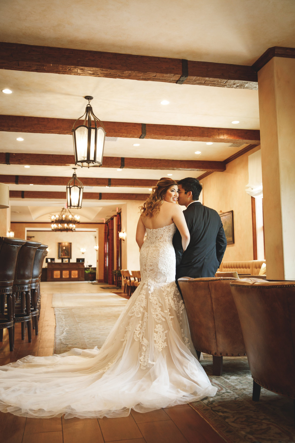 hotel granduca wedding photographer bride groom lobby 320 S Capital of Texas Hwy, West Lake Hills, TX 78746