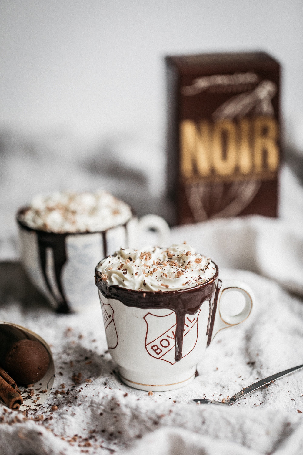 Boozy Spiced Noir Hot Chocolate | Anisa Sabet | The Macadames-81