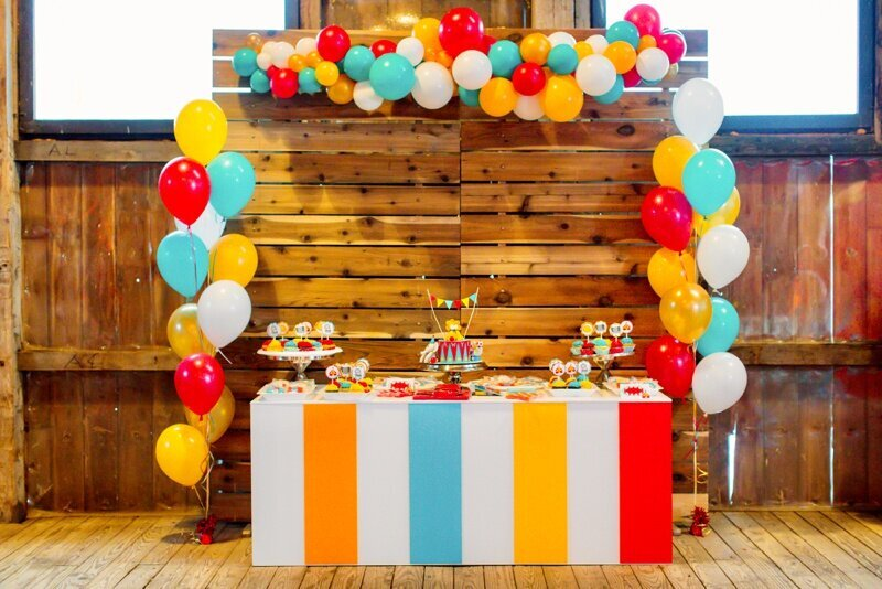 Circus Themed 1st Birthday Indianapolis Party Planner_0028