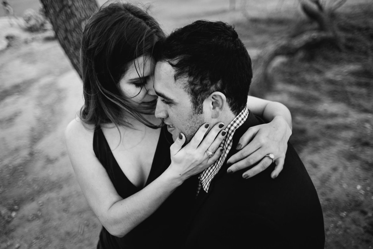 engagement photo at zilker park in austin texas by stephane lemaire photography