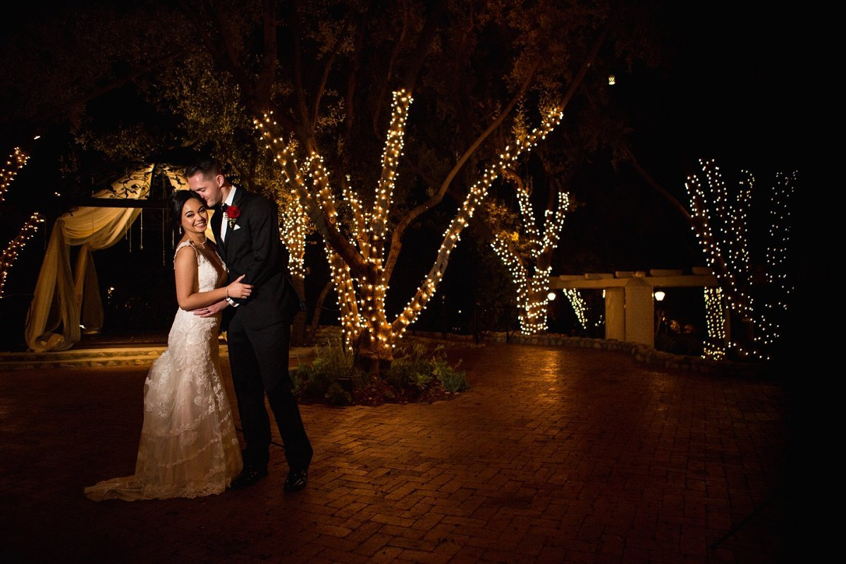 Orange-County-Wedding-Photographer-padua-hills-theatre-evening-portraits-bride-groom