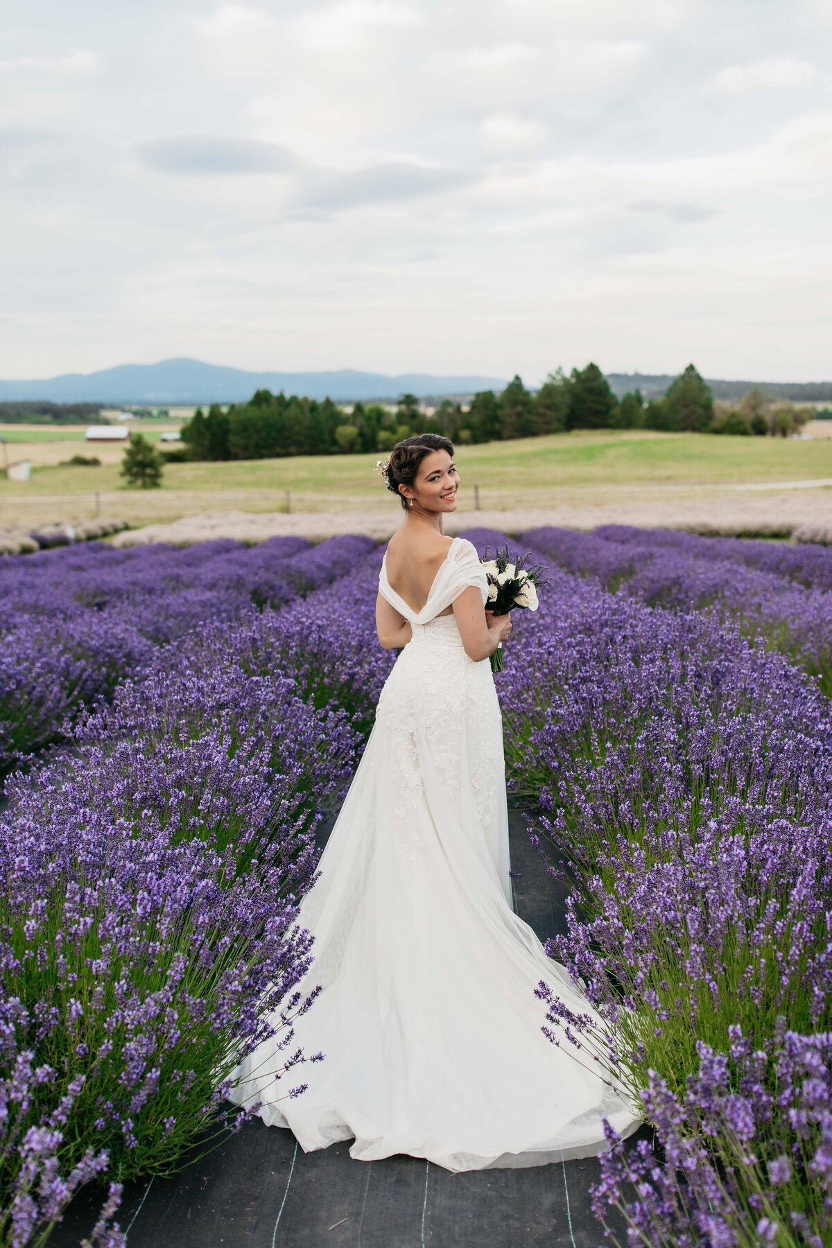 Lavender Manor Spokane Washington - Outdoor Elopement Photographer in Spokane - Clara Jay Photo