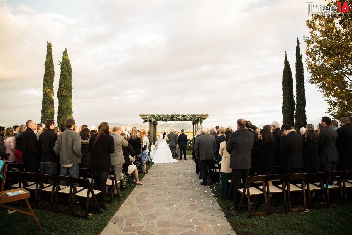 Wedding Ceremony  at Ponte Winery