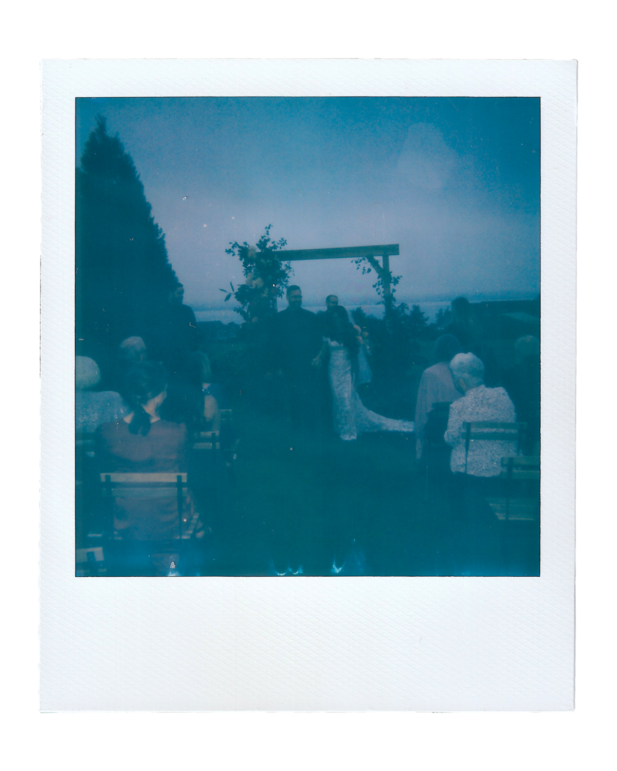 Laura + Brett | Backyard Wedding Polaroids00026