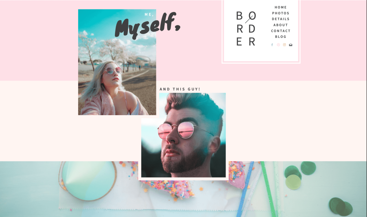 Border Showit Template desktop_4