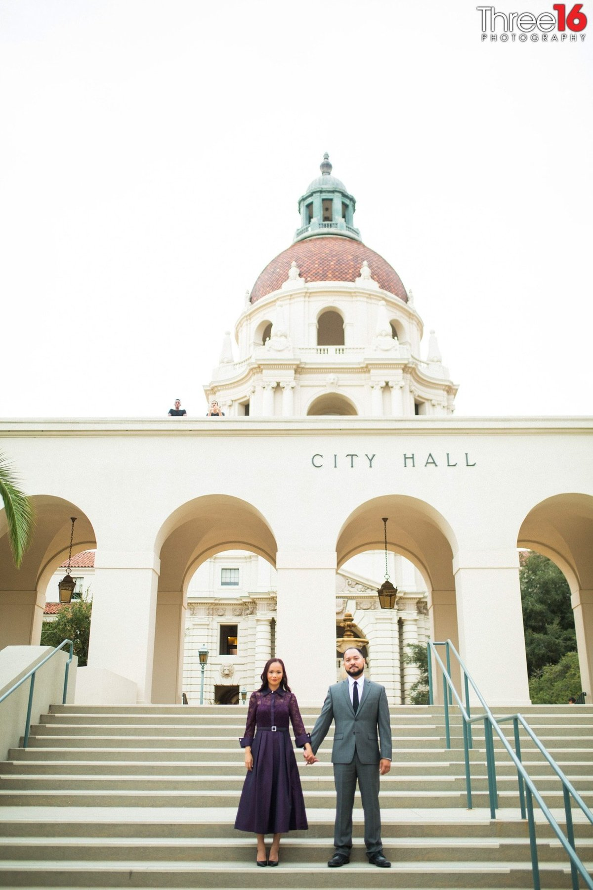 Pasadena Courthouse Wedding Pictures