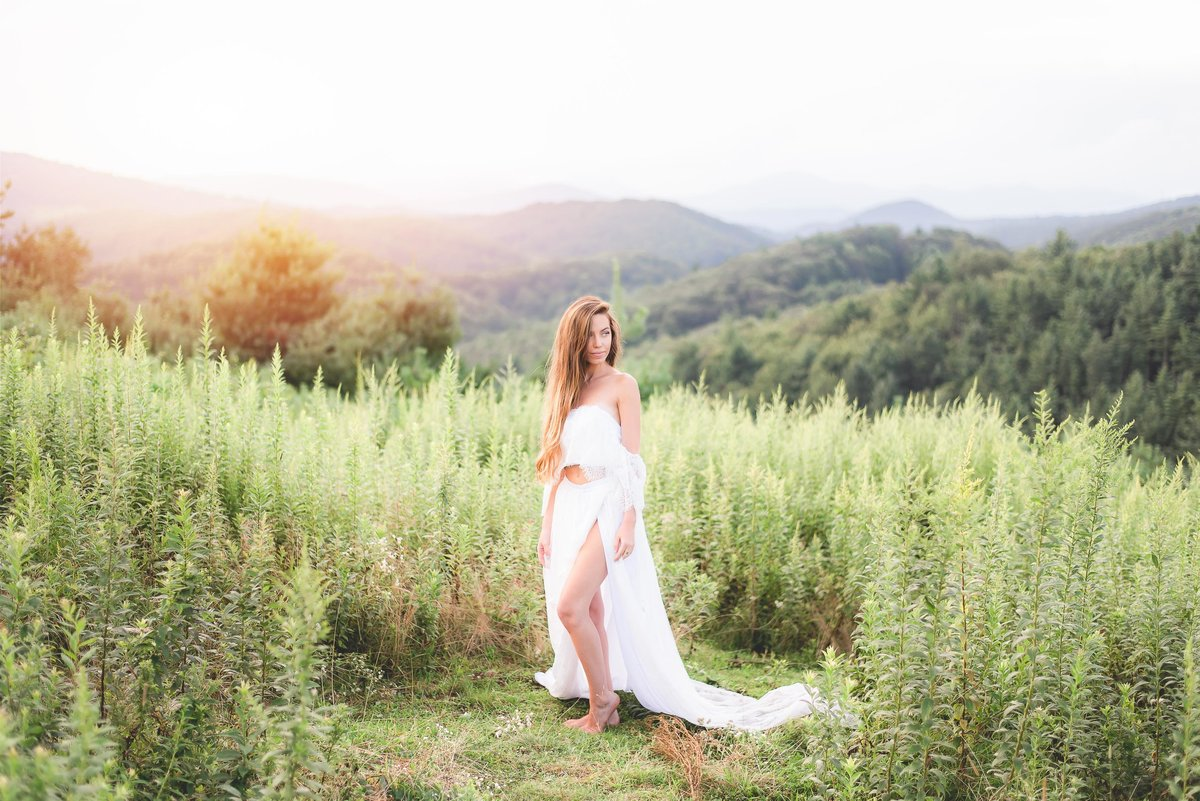 wv and nc wedding photographer outdoors mountain beckley wv bridal-6