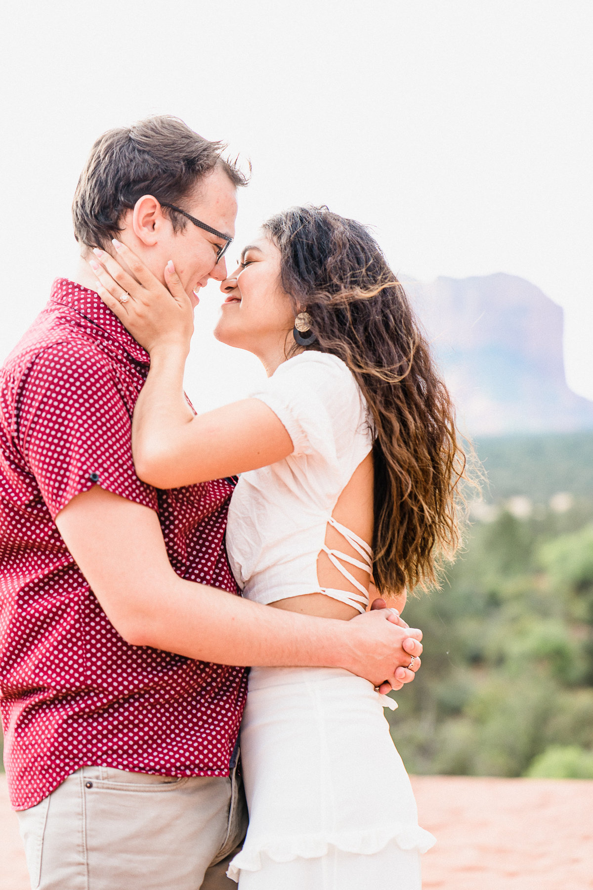 Atlas Rose Photography AZ Kat And Cam Sedona Adventure Engagment Experience 102