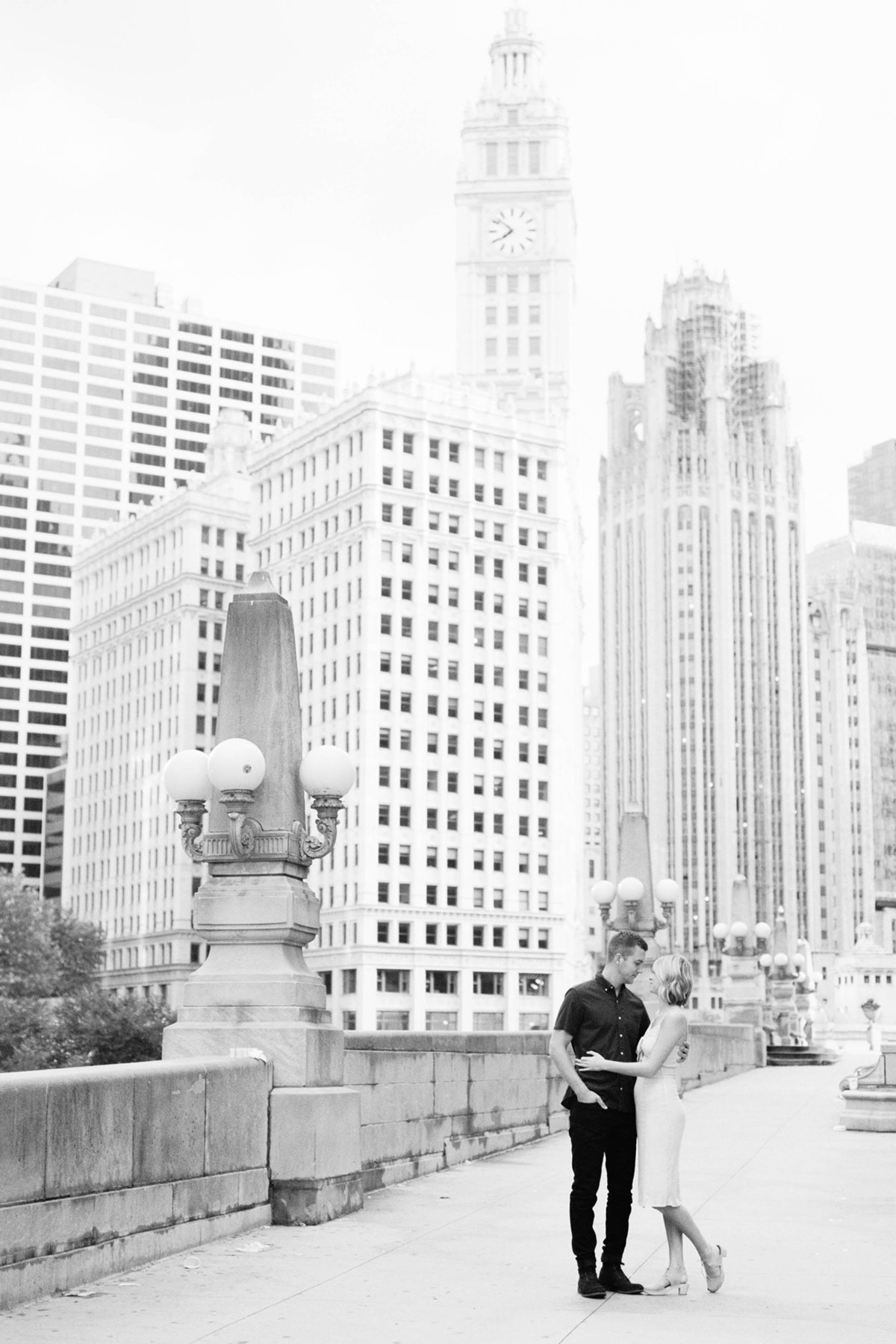 Chicago Wedding Photographer - Fine Art Film Photographer - Sarah Sunstrom - Sam + Morgan - Engagement Session - 2