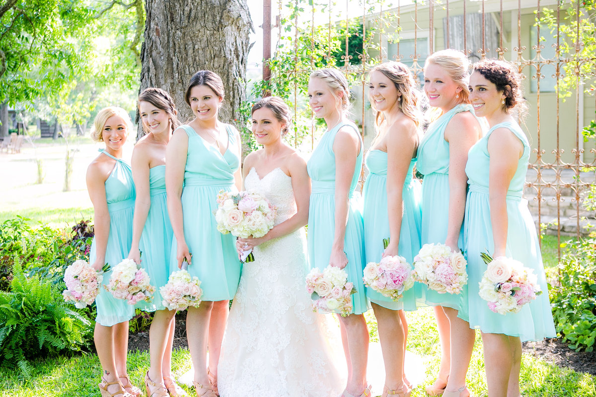 Austin Family Photographer, Tiffany Chapman Photography bride's party photo