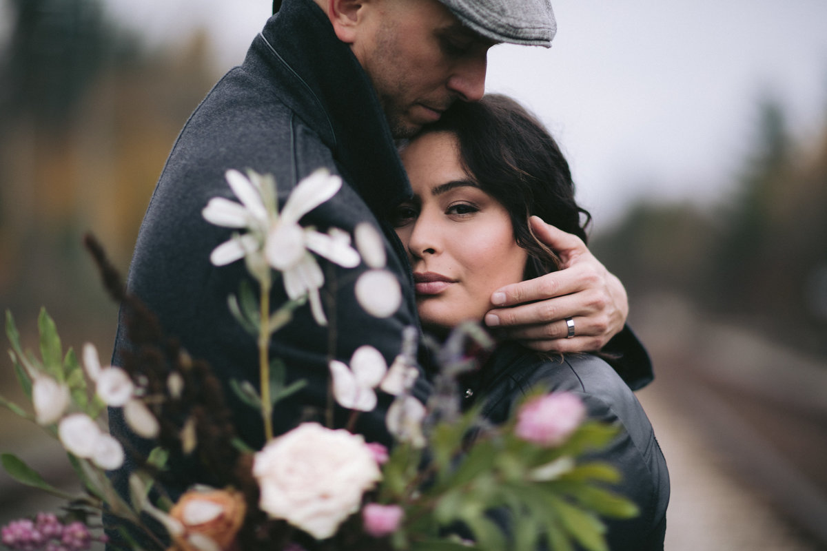 Location Engagement photo shoot Fort Langley with Kelowna Wedding Photographer - Photos by Pala Mikayla