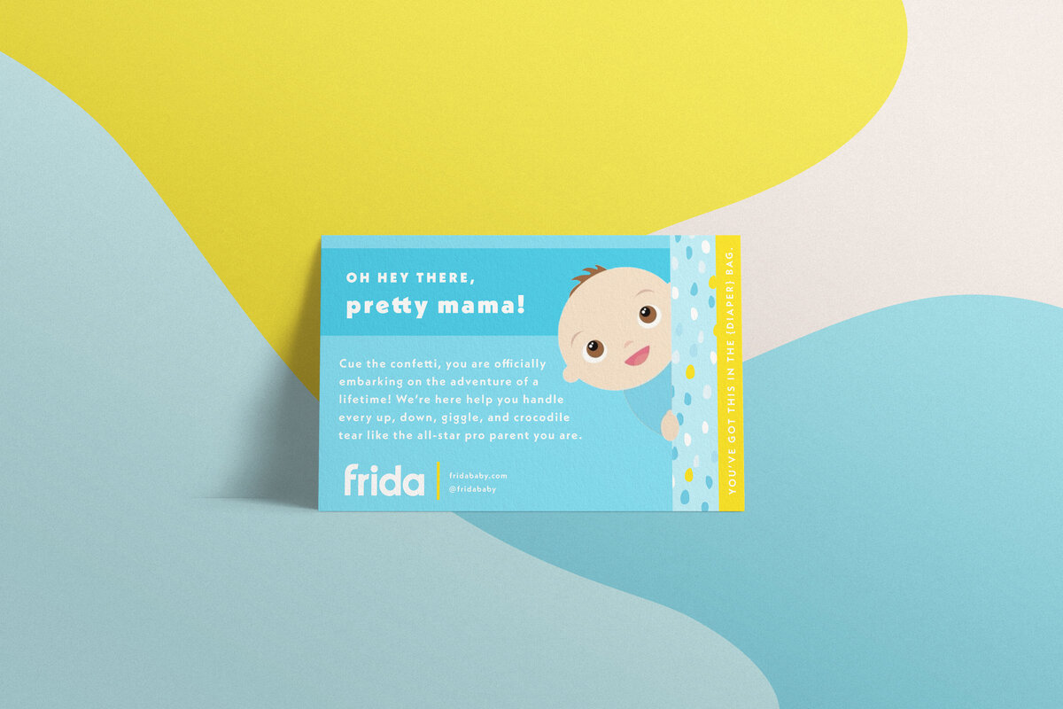 Frida Marketing Collateral Mockup on Multi