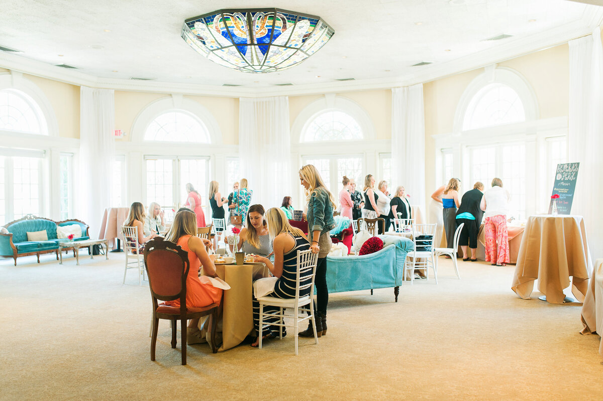 Gather with your closest gals for a fun mixer in our Pavilion.