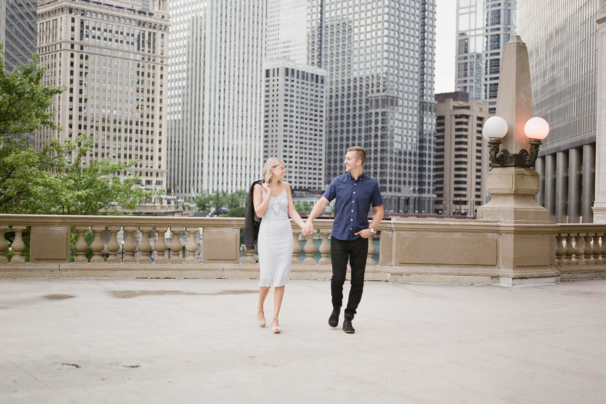 Chicago Wedding Photographer - Fine Art Film Photographer - Sarah Sunstrom - Sam + Morgan - Engagement Session - 29