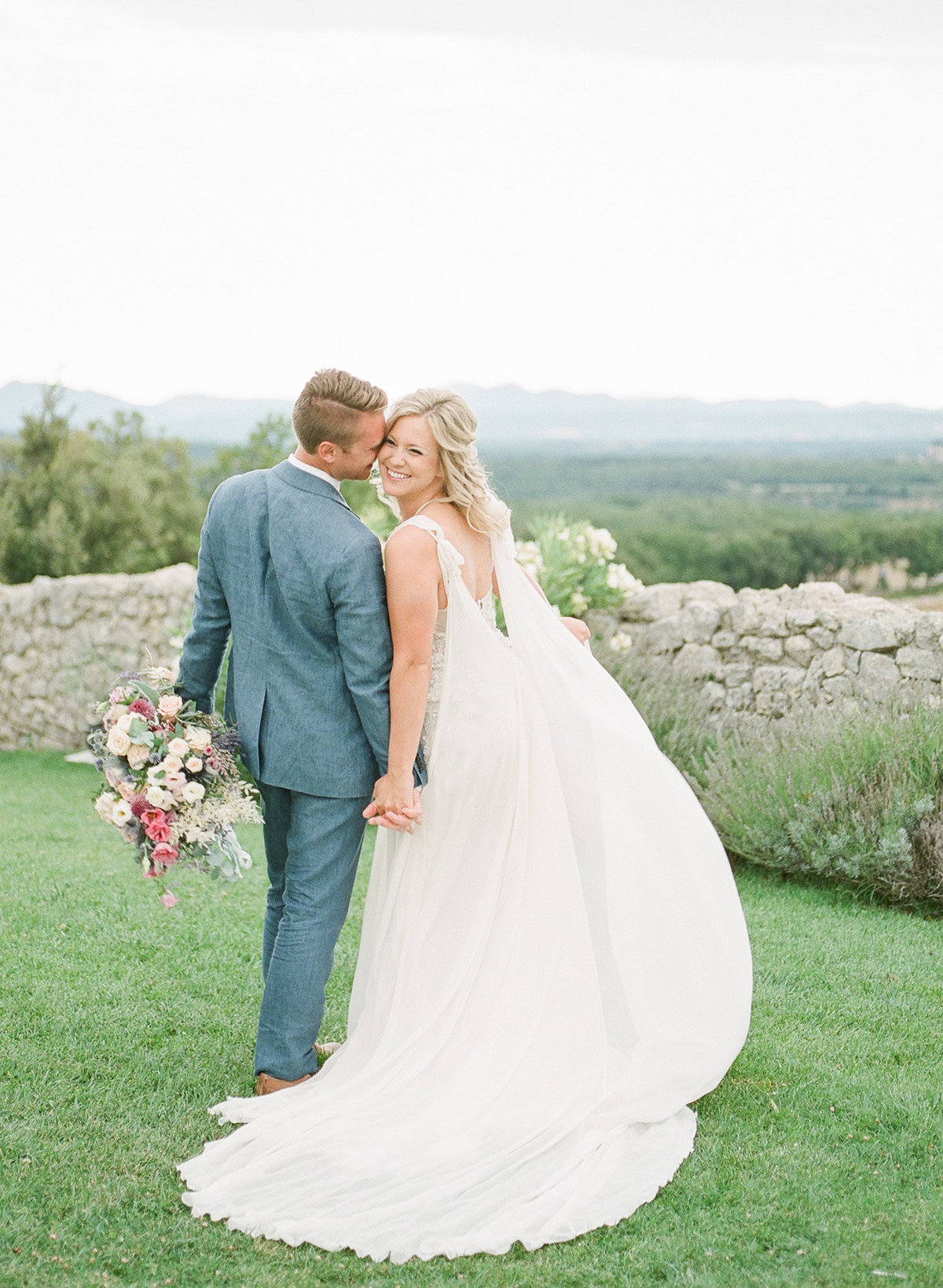 Domaine de Sarson Provence France Wedding-111