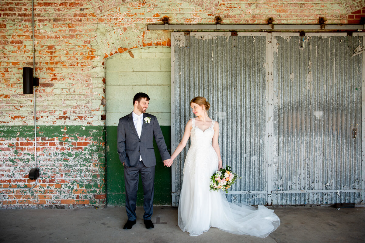 The Cotton Room and Beltline Station wedding in Durham