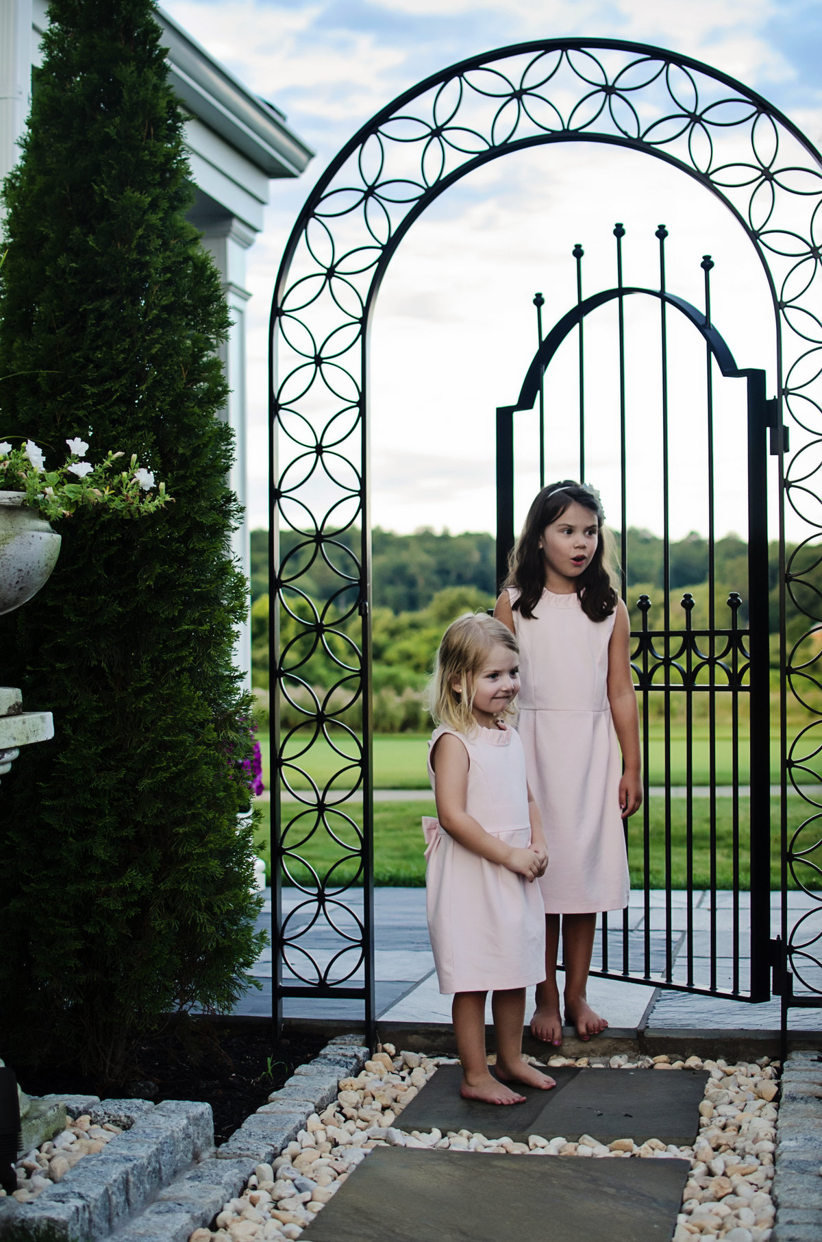 Lifestyle portrait session at a country club taken by Sarah Alice Photography in Northern Virginia