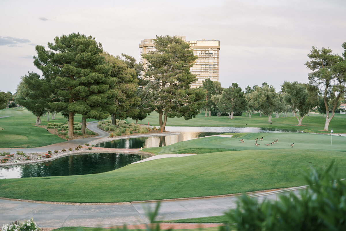 Las Vegas Country Club Landscape of the Golf Course
