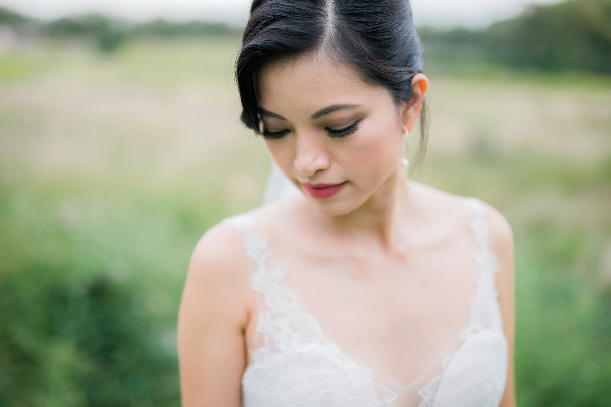Bridal portrait at Stock's Manor