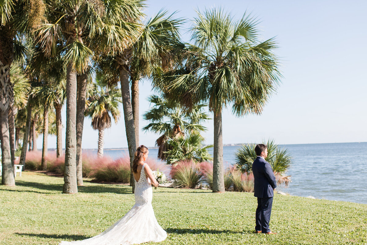 Hannah and Alex - Charleston Harbor Resort & Marina - First Look - 008