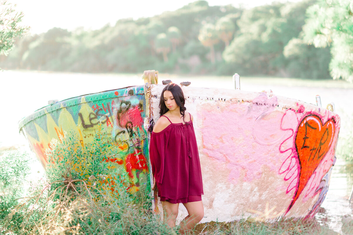 Pasha Belman Photography -Charleston Folly Beach Senior Portraits