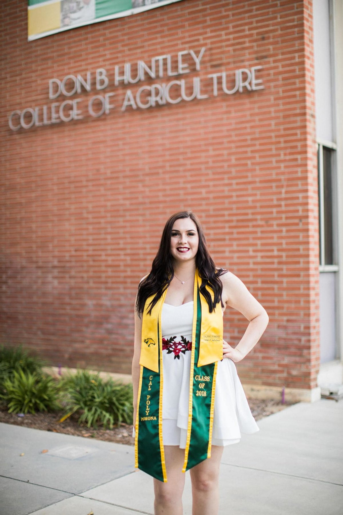 cal poly senior graduation photography_