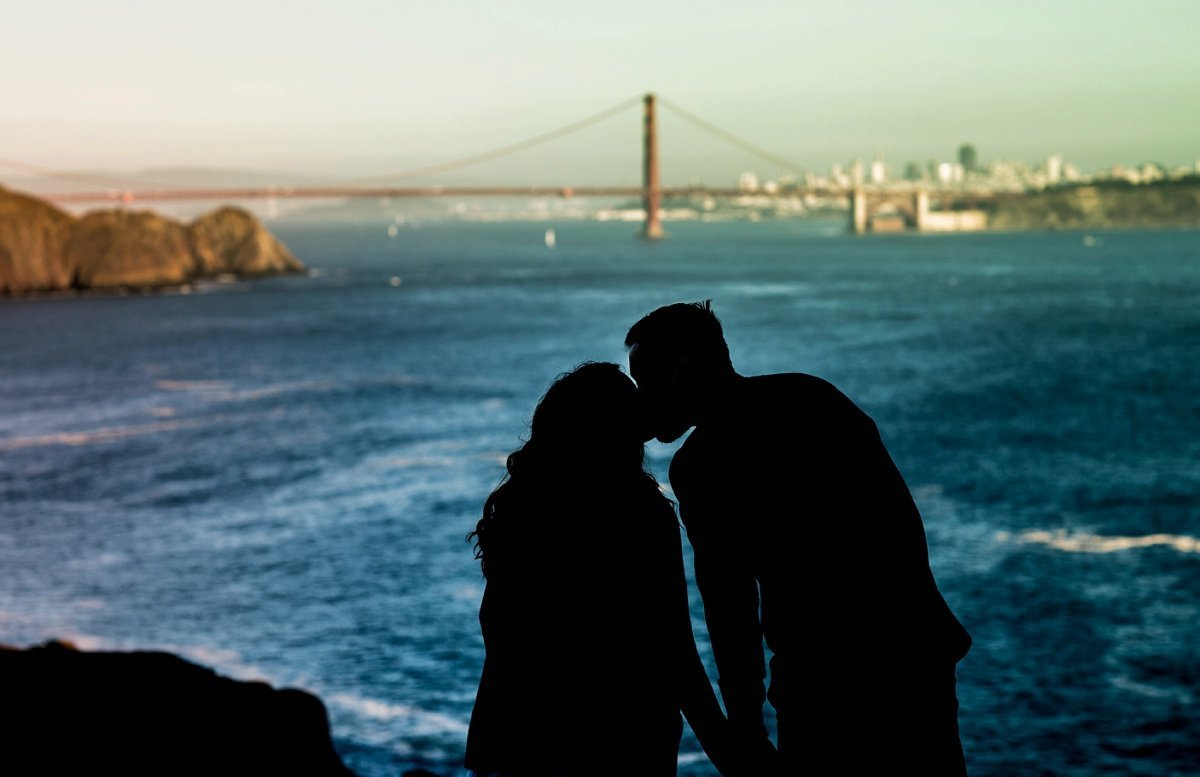 San Francisco Bay Engagement Photography