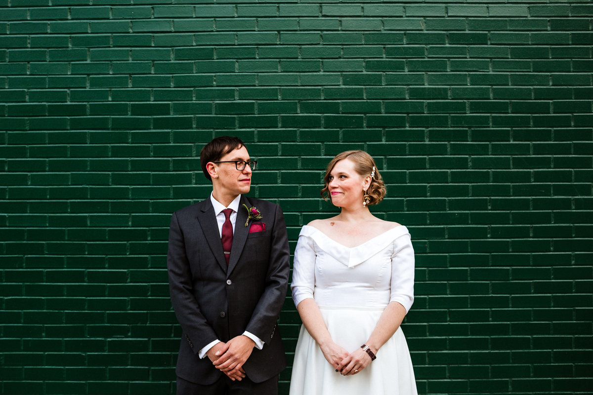 Chicago-Green-Wall-Wedding
