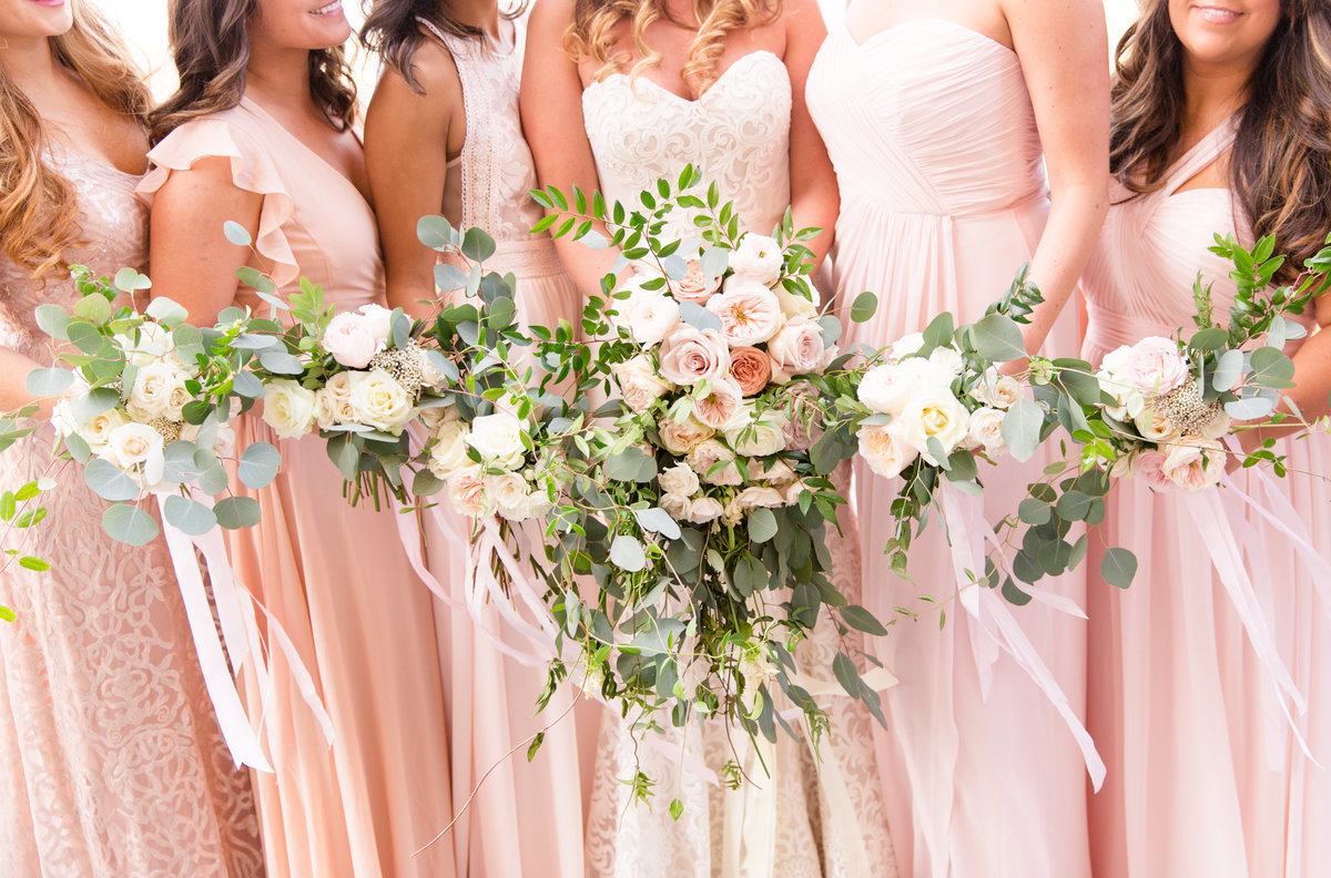 Wedding florals photography by Marie Hamilton Photography