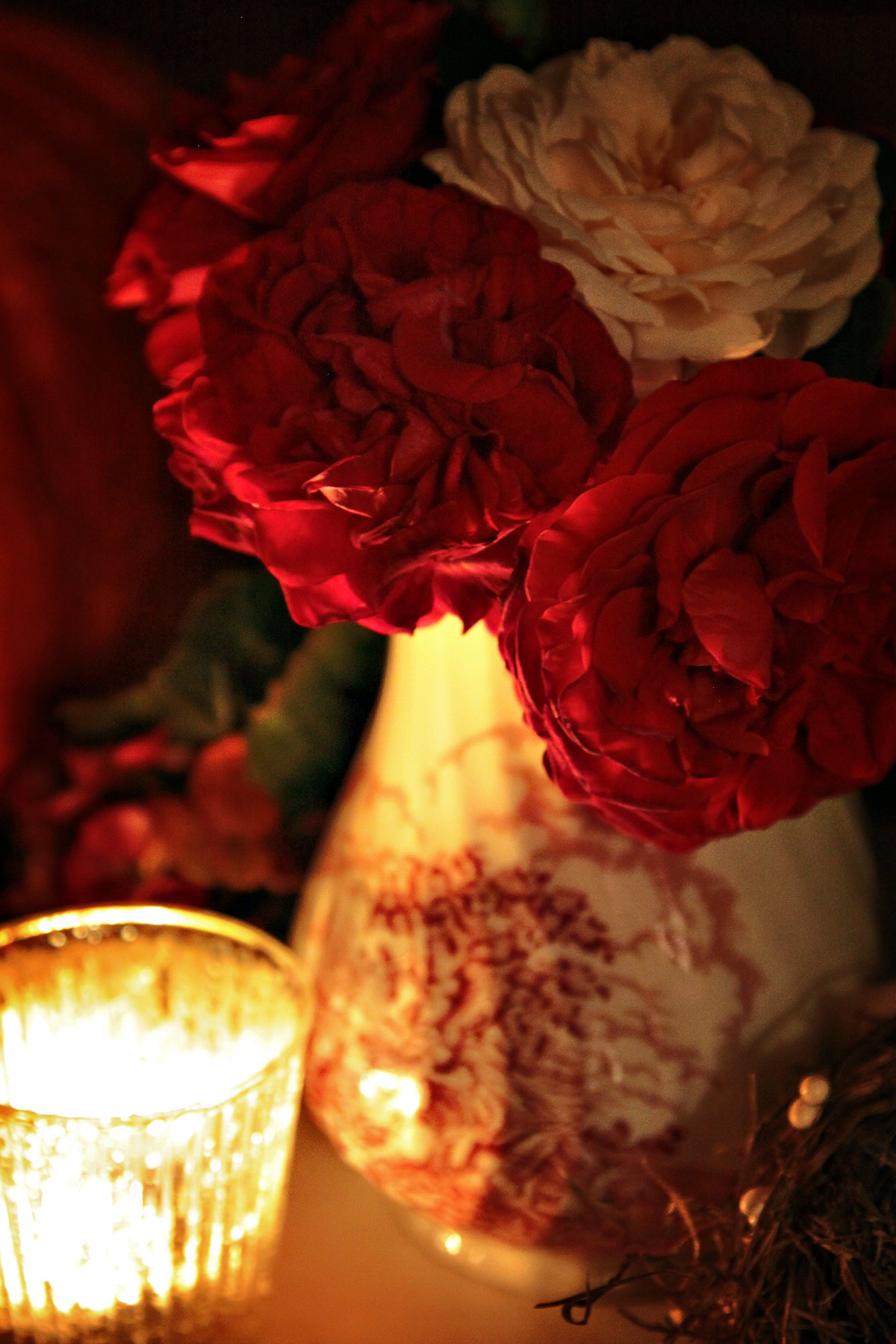 Roses and candlelight v2