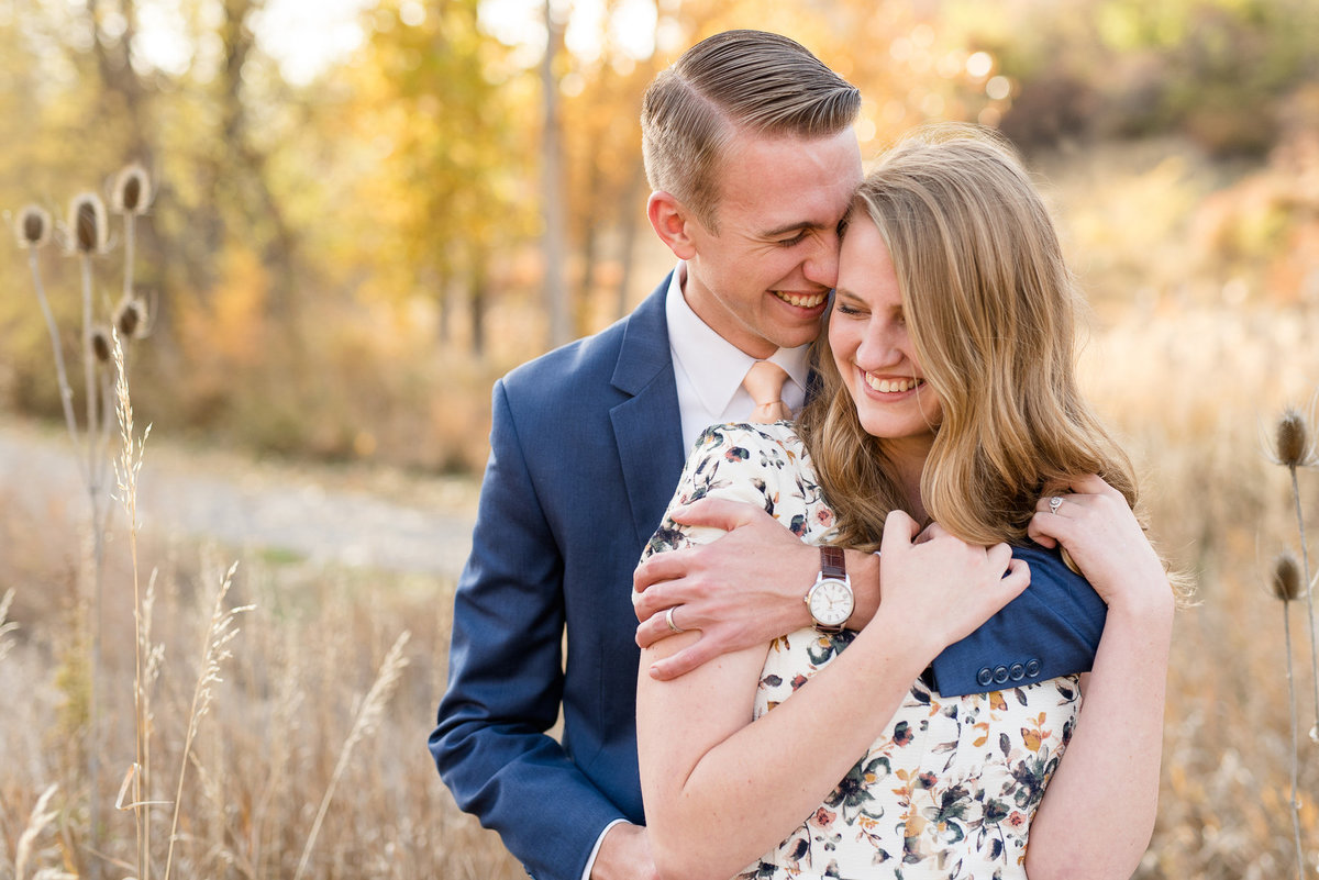 Layton Utah Fall Engagement Photography_008