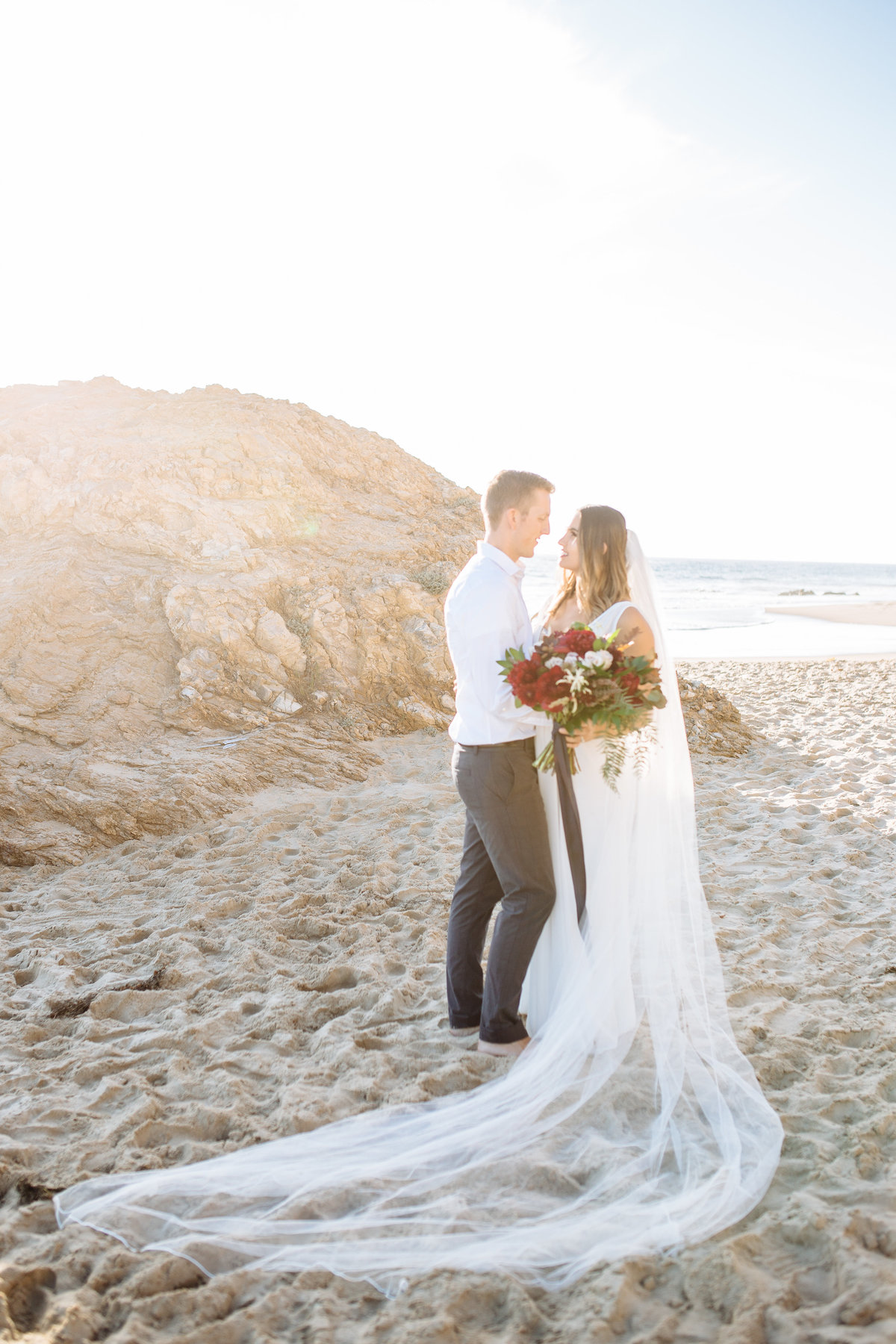 Sienna and Bryan | Beach Elopement | Orange County Wedding Photographer | Smith House Photography -95