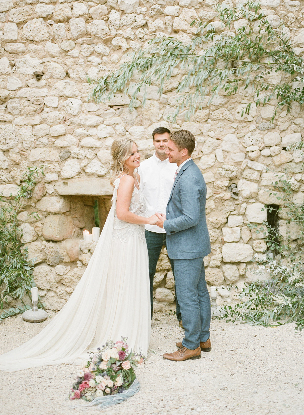 Domaine de Sarson Provence France Wedding-76