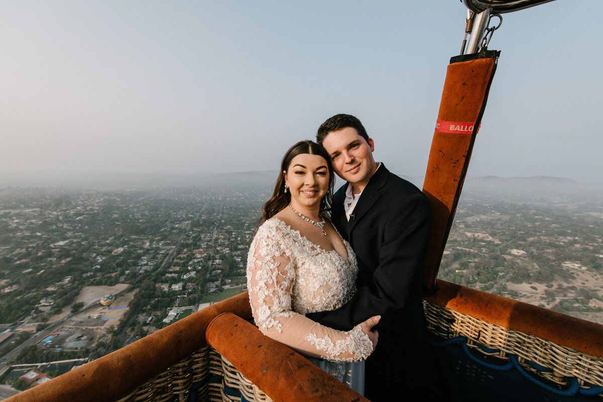 Hot Air Balloon Elopement Marie Monforte Photography-119