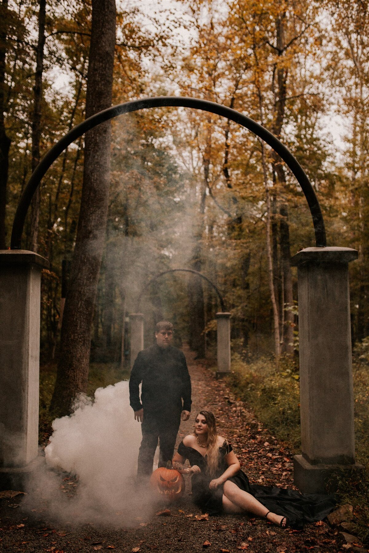 Brizzy-Rose-and-Emma-Rose-Island-Charlestown-Spoopy-Engagement-Session-16