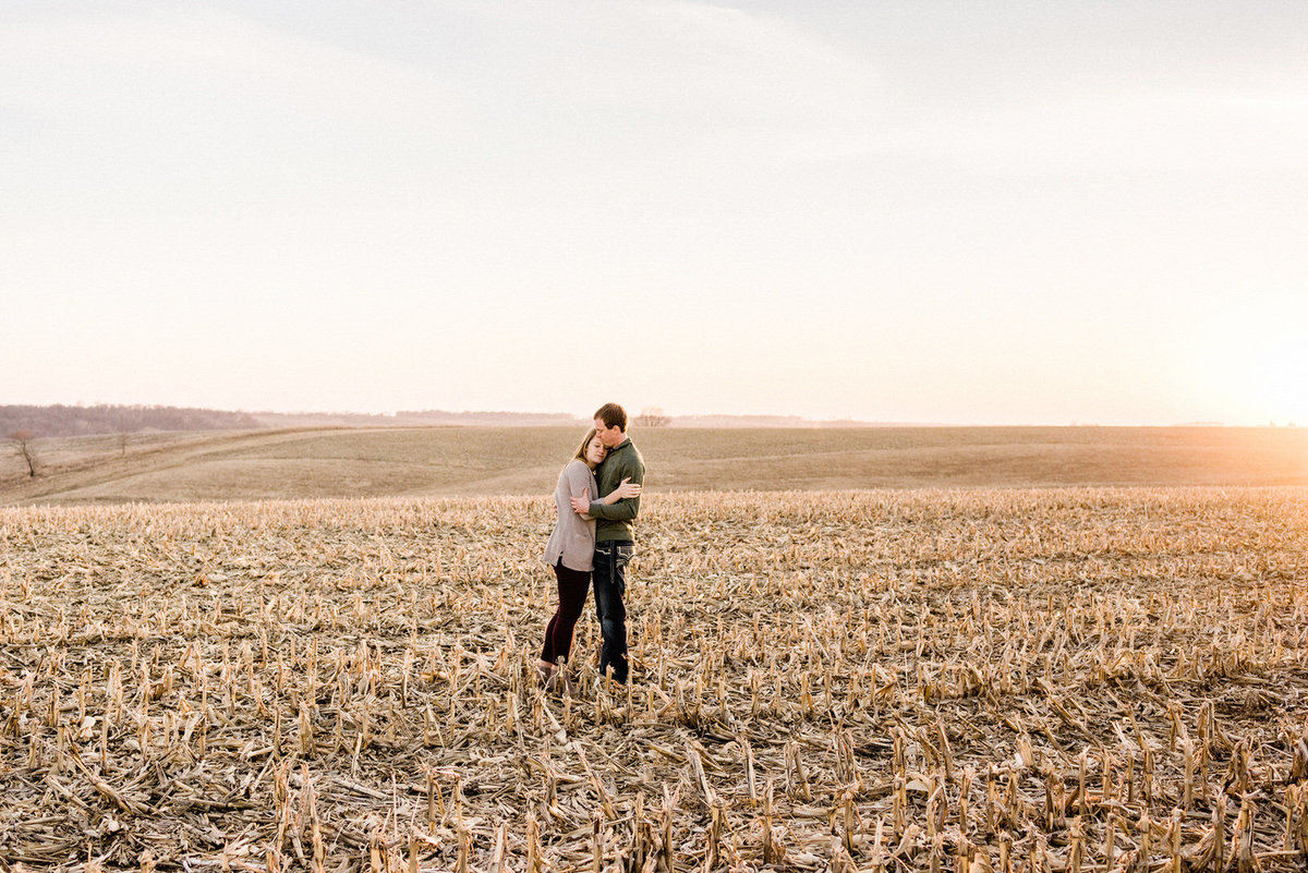 Nicole Corrine Omaha Engagement Photographer