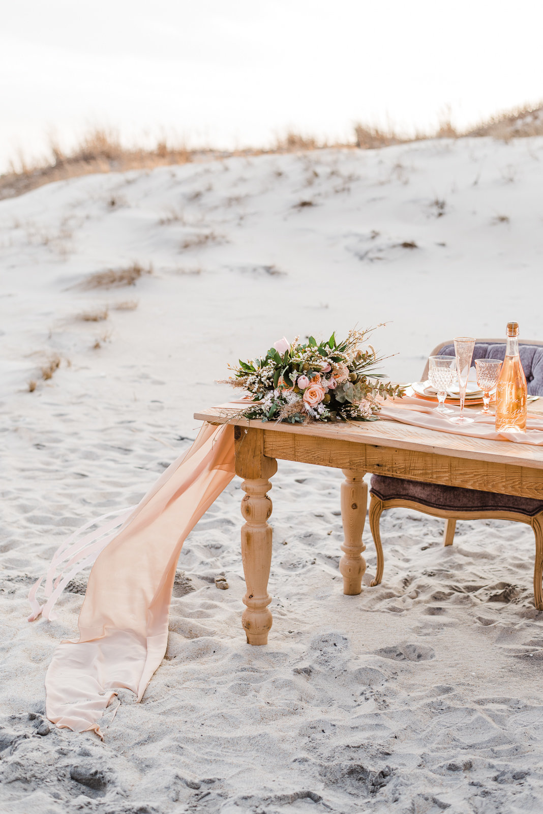 Assateague Island Fine Art Wedding  Megan Harris Photography
