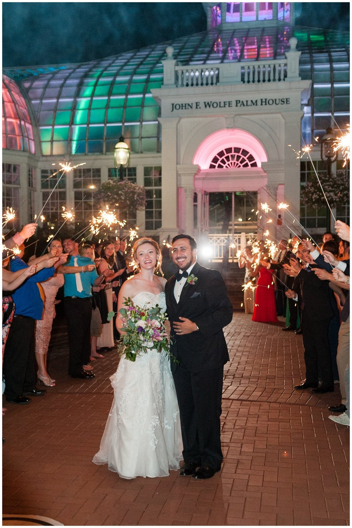 Franklin Park Conservatory Wedding The Palm House Bridal Garden Grove_0120